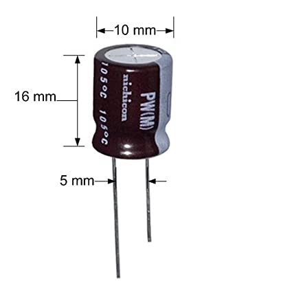 NICHICON UPM1J221MHD Electrolytic Capacitor 220 /µF /± 20/% Radial Leaded 1 piece 12.5 mm PM Series 63 V