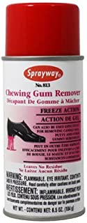 Sprayway SW813 Aerosol Can Cherry Scented Chewing Gum Remover, 6.5 oz, 12. Fluid_Ounces