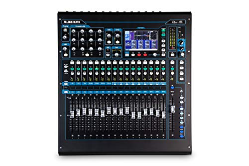 Allen & Heath QU-16C Rack Mountable Compact Digital Mixer, Chrome Edition (Certified Refurbished)