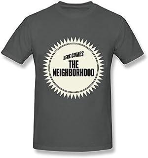 8a06cb84a90eb7 Meroy Vera Men's The Neighbourhood T-Shirt Gray