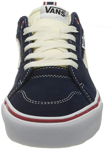Vans Filmore Suede/Canvas, Sneaker Uomo, Retro Sport/Dress Blues/Chili Pepper, 42 EU
