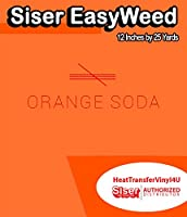 Siser EasyWeed アイロン接着 熱転写ビニール - 12インチ 25 Yards HTV4USEW12x25YD