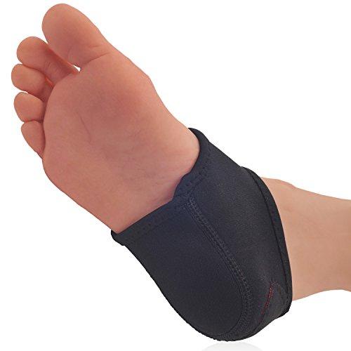 Dr. Frederick's Original Neoprene Heel Guard Set - 2 Pieces - Heel Protectors - Relieve Heel Pain from Plantar Fasciitis - Heel Spur - Cracked Heels - W7.5 - 10 | M6 - 8