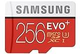 Samsung MB de mc256da/AMZ EVO Plus Serie Micro Tarjeta de Memoria SDXC 256GB con Adaptador