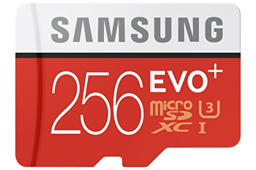 Samsung MB-MC256DA/AMZ Speicherkarte EVO Plus Serie Micro-SDXC 256 GB mit Adapter