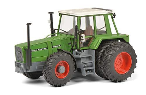 Schuco 450781400 Fendt 626 LSA Heck Zwillingsbereifung, Modelltraktor, Modellauto, Maßstab 1:32, grün