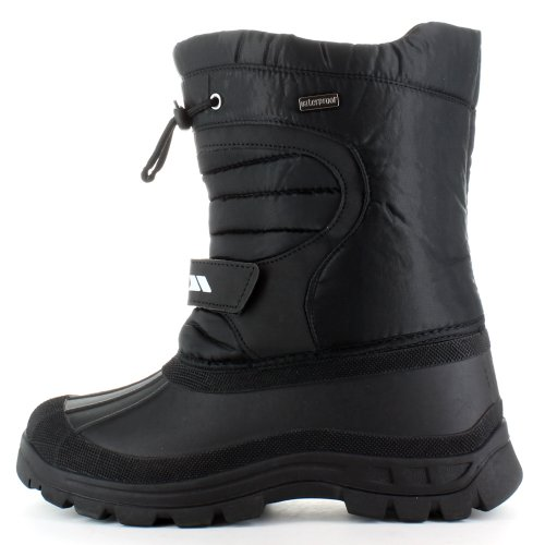Trespass Dodo, Unisex-Kinder Chelsea Boots, Schwarz (Black), 42