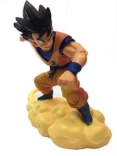 XXSDDM-WJ Regalo 14XM Dragon Ball Son Goku Figura de Anime Salto Mortal-Nube Son Goku Estatua Decoraciones Modelo coleccionables Recuerdo títeres Amantes Regalo Son Goku-Son Goku RD7