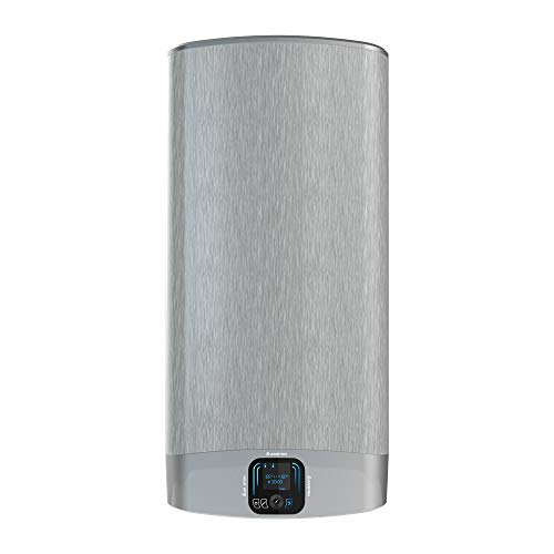 Ariston VELIS EVO PLUS 65 litres, Chauffe-eau électrique plat (Prof 27 cm), Gain de place, Multi-positions, Thermostat haute précision Core Tech. Conçu et fabriqué pour être installé en France.
