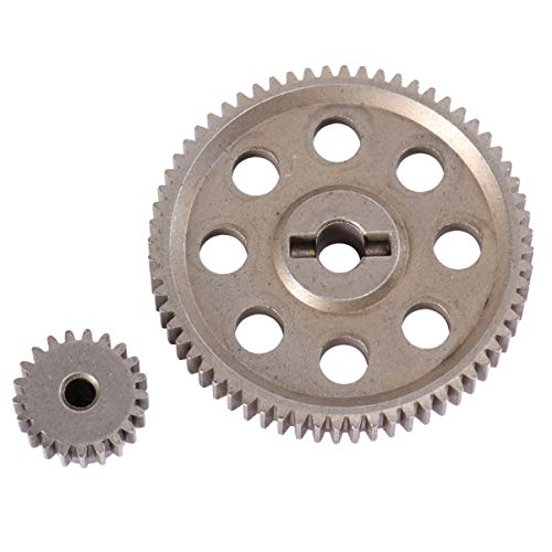 winomo HSP 11184 11181 Differential Metall Main Gear 64T Motor Gear 21Z 94111 9417 1/10 RC Cars