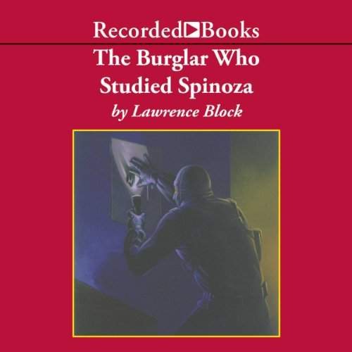 The Burglar Who Studied Spinoza audiobook cover art