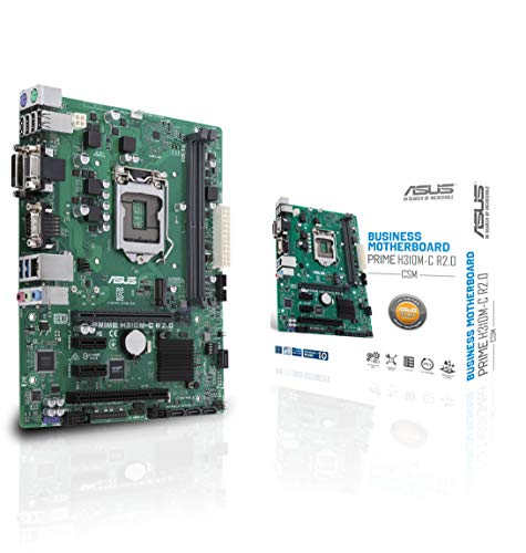ASUS LGA1151(300シリーズ)DDR4 M.2 VGA mATXマザーボードマザーボードPrime H310M-C R2.0 / CSM