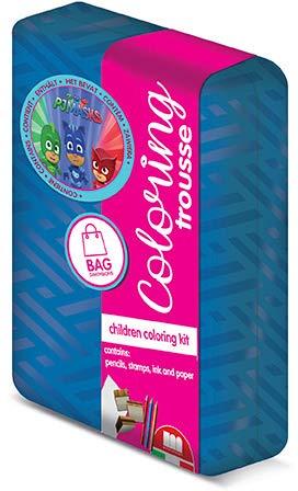 Multiprint Mega Blíster 6 Sellos para niños Kit 'n' Kate, 100% Made in Italy, Juego de Sellos para niños Personalizados, de Madera y Goma Natural, Tinta Lavable no tóxica, Idea Regalo, Art. 79990