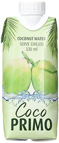Coco Primo 100 % Agua de Coco Pura - 12 Tetra Pack