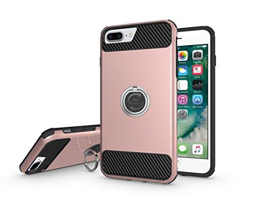 BCIT iPhone 7 Plus Cover - cáscara Dura protección