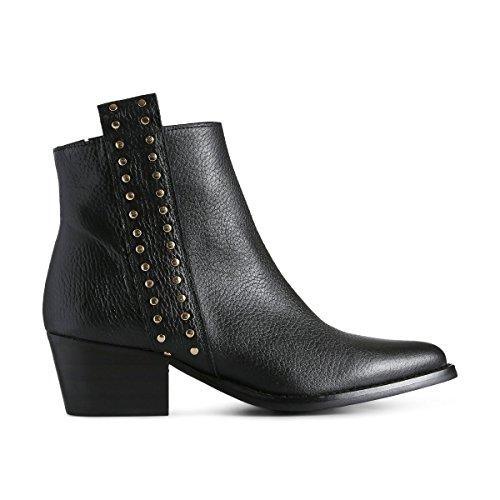 Shoe the Bear Leila Studs, Bottines Femme, Noir 110, 38 EU