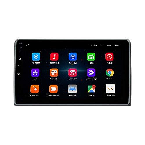 ZERTRAN Car Stereo Multimedia Player DVD Android 9.1 Octa Core RAM 4G ROM 64G GPS Navigation for Mahindra Marazzo RHD