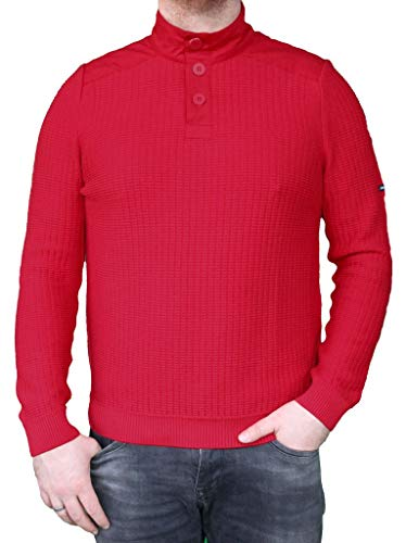 Saint James herentrui rood - maritiem pullover maat M, Gr.L, Gr.XL, Gr.XXL, Gr.XXXL