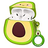 FRDERN Airpods Funny Case Compatible with Airpods 2 &1 , Soft Silicone Portable 3D Cute Cartoon Airpods Cover for Kids£¬Girls and Teens