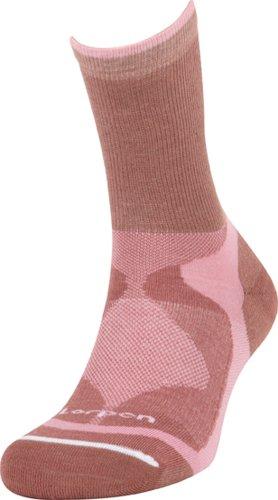 Lorpen Damen Trilayer Light Hiker Socken Mauve/Pink, Größe S