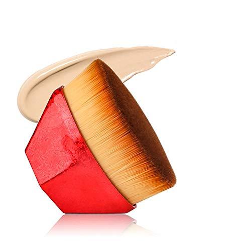 LILONGXI Pinceau De Maquillage,Porte-Soft Set Rouge Poudre Maquillage Fondation Fondation Pratique Brosse pour Flawless-Powder Crème Ou Les Cosmétiques