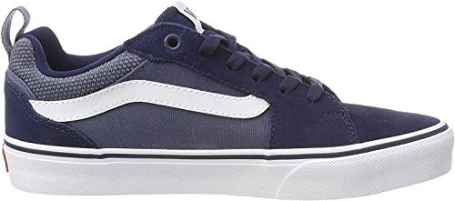 Vans Filmore, Zapatillas para Hombre Azul ((Suede Canvas) Dress Blues/Vintage Indigo T2l) 41 EU