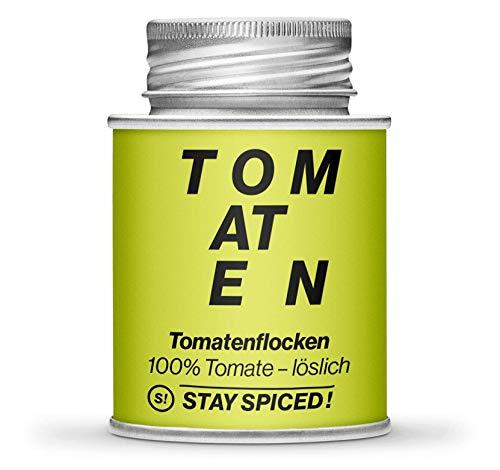 Hochwertige Tomatenflocken von STAY SPICED ! 1 kg entspricht 13,9 kg frischen Tomaten I 170 gr Schraubdose
