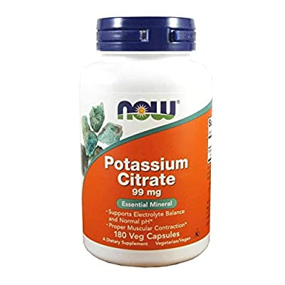 Now Foods Potassium Citrate 99 Mg 180 Capsules from NOW Foods