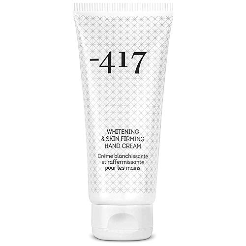 -417 Whitening Skin Firming Hand Cream for Dry Cracked Skin and Working Hands features Essential Vitamins and Oils From The Dead-Sea Anti Aging Hand Moisturizer for Silky Smooth Hands 3.4 oz