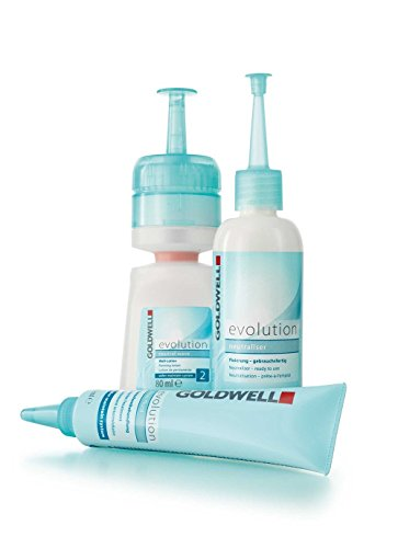 Goldwell Evolution Perm 2 Set Dauerwellenbehandlung (Well-Lotion,80 ml+Fixierung,100 ml+Interfluid,30 ml)