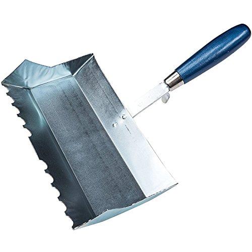 Connex COX785076 kalkzandsteen-plakband 240 mm, halfronde tanden, houten handvat