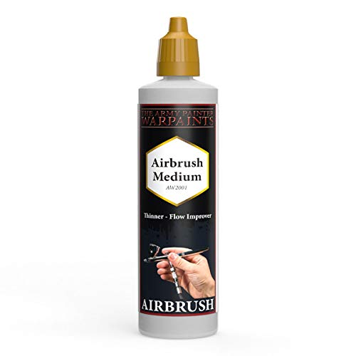 The Army Painter | Airbrush Medium | Non-Toxic Water-Based Airbrush Thinner and Flow Improver – Paint Thinning Medium for Tabletop Roleplaying, Boardgames, and Wargames Miniature Model Painting.