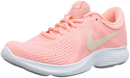 Nike Wmns Revolution 4 EU, Zapatillas de Running Mujer, Rosa (Pink Tint/Guava Ice-Oracle Pink 602), 37.5
