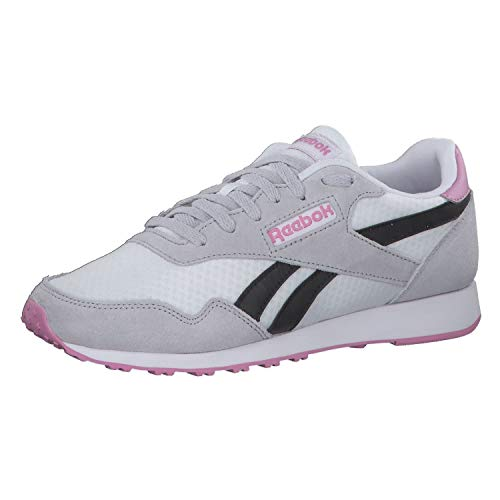 Reebok Damen Royal Ultra Sneaker, Multicolor (Weiss/Stegrig/Schwarz), 41 EU