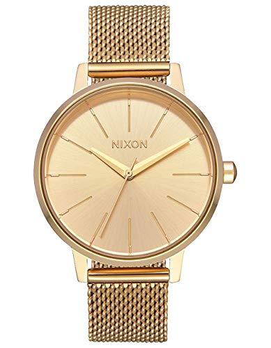 Nixon Reloj Analógico para Mujer de Cuarzo con Correa en Acero Inoxidable A1229-502-00