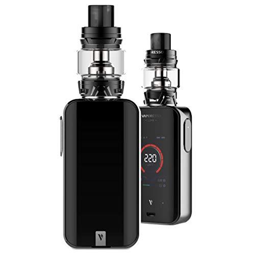 Vaporesso Luxe-S Kit ,Cigarrillo Electrónico Vaping Kit 220W Box Mod Atomizador SKRR 8ml Tank E-Cig Vapor - Sin Nicotina y Sin E-líquido (Negro)