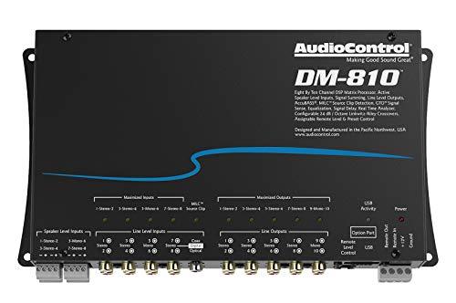AudioControl DM-810 8 by 10 Channel Matrix Digital Signal Processor