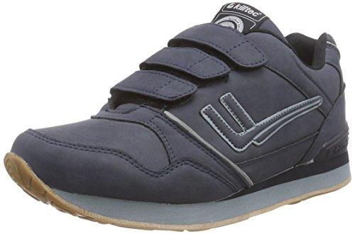 Killtec Unisex-Erwachsene Rossi Velcro Outdoor Fitnessschuhe, Blau (dunkelnavy / 00814), 36