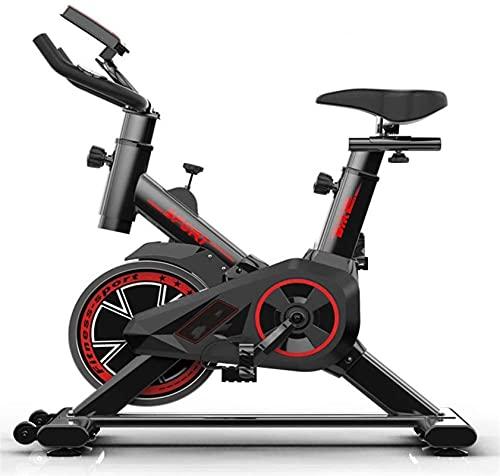 Equipamiento Gimnasio en casa Bicicleta de fitness ultra silenciosa, Bicicleta de ciclismo en interiores Bicicleta de spinning Speedbike con sistema de transmisión por correa de bajo ruido Cardio Bike