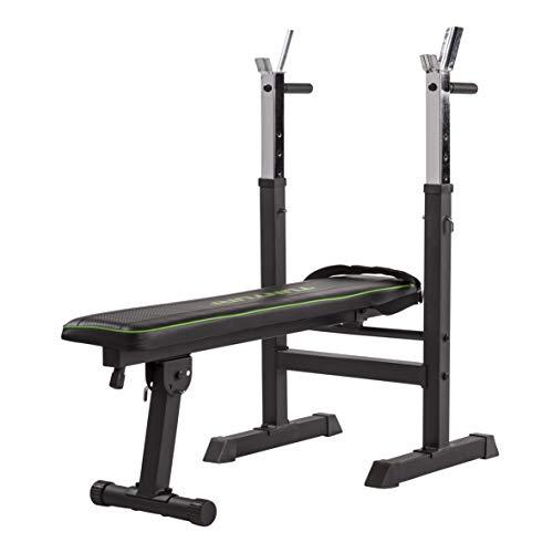 Tunturi Wb20 Basic Weight Bench, 17TSWB2000 Unisex Adulto, Nero, 1