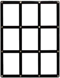 ウルトラプロ 黒枠フレーム カード9枚用スクリューダウン