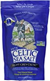 Light Grey Celtic Sea Salt 1 Pound Resealable Bag – Additive-Free, Delicious Sea Salt, Perfect for Cooking, Baking and More - Gluten-Free, Non-GMO Verified, Kosher and Paleo-Friendly