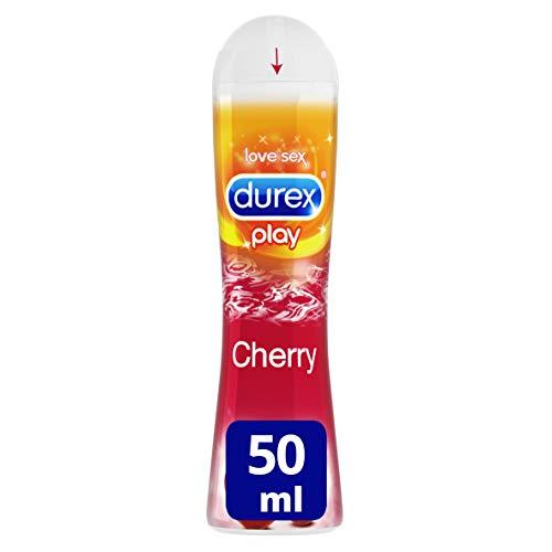 Durex Lubricante Sabor y Aroma Cereza de Base Agua - 50 ml