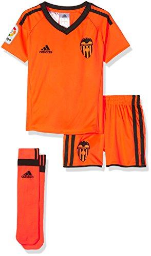 adidas VCF 3 MINIKIT - Mannschaftsbekleidung Linea Valencia FC - Junge, Orange, 92