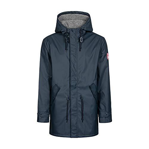 derbe Herren Winter Regenjacke Trek Cozy RC Navy dunkelblau - XXL