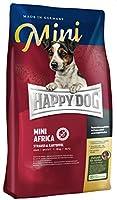 HAPPY DOG (ハッピードッグ) スプリーム・ミニ アフリカ (ダチョウ) グレインフリー アレルギーケア グルメで敏感な成犬用ドライフード 小型犬用 (4kg)