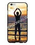 Coque-swag - Coque Personnalisable pour iPhone 6/6S - Contour Souple Noir