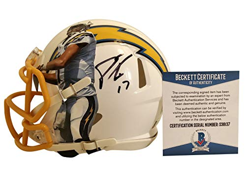 Philip Rivers (San Diego Chargers) Signed Autographed Authentic NFL Football (PSA/DNA) COA