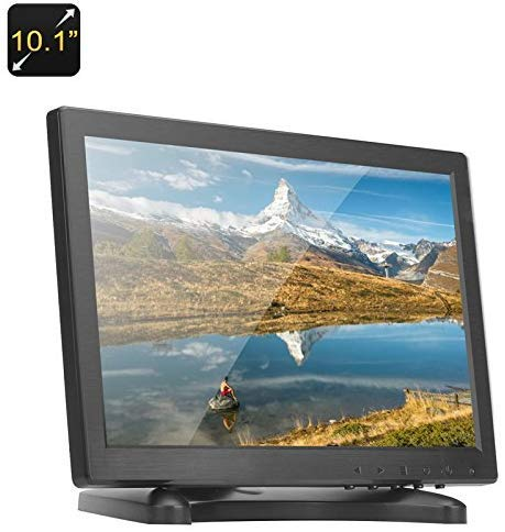 12 inch (CCTV-TFT-LCD-monitor CCTV-monitor computermonitor met AV/HDMI/BNC/VGA-ingang PC CCTV-camera beveiliging-DVR-systemen (highlight LED/CCFL-lampen, 450cd / m2, 800 * 600 resolutie) l 10.1inch