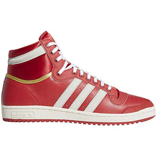 adidas Mens Ten Hi Sneakers Shoes - Red - Size 8.5 D